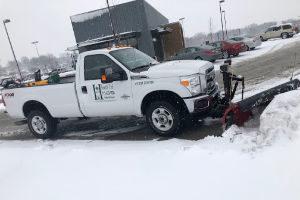 snow plowing SE South Dakota